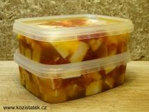 Kozí balkán se sušenými rajčaty